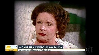 Corpo da atriz Eloísa Mafalda é velado em Jundiaí - Atriz morreu aos 93 anos em Petrópolis, na região Serrana do Rio de Janeiro. Jundiaí é a cidade onde ela nasceu e onde vivem os parentes dela. O velório é fechado.