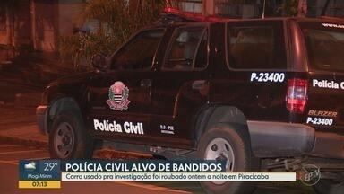 Viatura policial descaracterizada é furtada em Piracicaba - Policial civil estacionou o carro em um bairro e quando voltou o veículo havia sido levado.