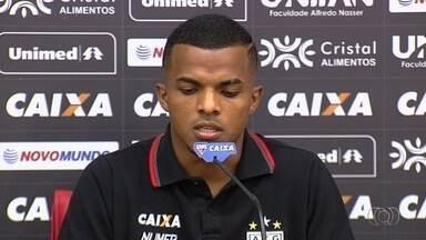 Após perder para o CRB e empatar com o Londrina, Atlético-GO se mostra confiante - Time está com vários jogadores impossibilitados de jogar.