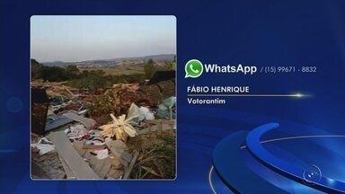 Veja as reclamações enviadas para o WhatsApp da TV TEM nesta sexta-feira - Veja as reclamações enviadas pelos telespectadores para o WhatsApp da TV TEM nesta sexta-feira (18).