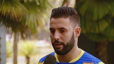 Goleiro da equipe de Araraquara fala sobre expectativa para final da Taça EPTV de Futsal - Decisão da competição ocorre no sábado (19), às 14h, no Ginásio Milton Olaio Filho. O time da Morada do Sol enfrenta o São João da Boa Vista.