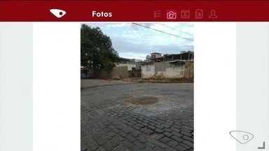 Morador agradece conserto de bueiro em rua de Cachoeiro, no Sul do ES - Reclamação foi feita por meio do aplicativo da TV Gazeta.