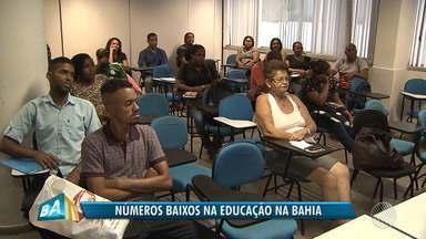 IBGE aponta que quase um milhão e trezentos mil baianos não concluíram nem 1 ano de estudo - Pnad traz várias estatísticas negativas para a Bahia. Confira.