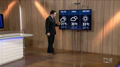 Veja a previsão do tempo nesta segunda-feira (21) no MA - Confira como deve ficar o tempo e a temperatura em São Luís e no Maranhão.