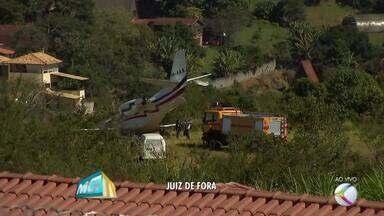 Aeronáutica vai apurar problema com avião do Dj Alok em Juiz de Fora - Aeronave saiu da pista durante decolagem neste domingo (20); ninguém ficou ferido. Investigadores do Seripa chegaram à cidade.