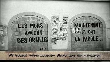 """Há exatos 50 anos, 7 milhões de trabalhadores cruzaram os braços na França - A maior greve da história do país foi o ápice do movimento que entrou para a história como """"Maio de 68"""""""