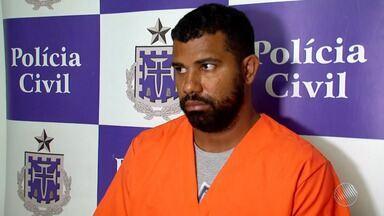 Polícia prende homem suspeito de abusado sexualmente quatro adolecentes em Eunápolis - O homem foi preso nesta terça-feira (22), quando estava em casa.