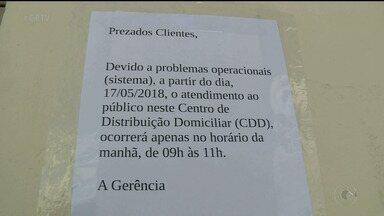 Horário de atendimento de central de entrega dos Correrios é reduzido em Petrolina - População reclama de atraso na entrega de correspondências e mercadorias