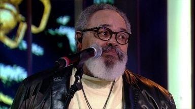 """Péricles e Jorge Aragão cantam """"Eu e Você Sempre"""" - Bial recebe os cantores para um bate papo sobre samba e pagode"""