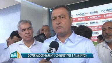 Governador fala sobre impactos da greve dos caminhoneiros e possível redução de impostos - Governador comentou medidas que estão sendo adotadas para minimizar as consequências dos bloqueios nas estradas e criticou a atual política de preços da Petrobras.