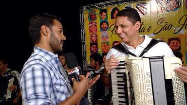 Artistas, como Targino Gondim gravam CD que valoriza o forró tradicional no São João - Artistas, como Targino Gondim gravam CD que valoriza o forró tradicional no São João