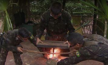 Veja o preparo para ações do Exército na selva amazônica