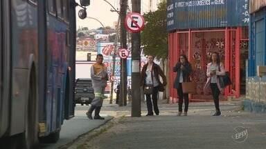 Nova fase das obras do BRT altera pontos de ônibus no Ouro Verde a partir desta segunda - Treze linhas foram afetadas e houve confusão. Alguns ônibus não pararam para pegar os passageiros.
