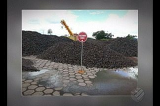 Operação fiscalizará armazenamento e o transporte ilegal de minério em Barcarena - Até agora foram apreendidos quase dez toneladas de manganês.