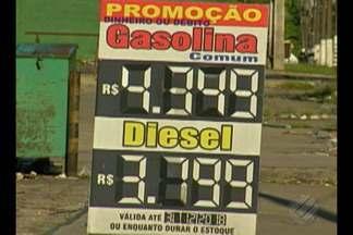 Motoristas reclamam do preço do diesel que ainda não reduziu nos postos em Belém - O Procon e a agencia nacional do petróleo prometem rigor na fiscalização.