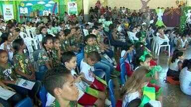 Foi lançado um projeto de combate ao mosquito que transmite a Dengue e a Zica no AP - Idéia é formar defensores mirins para monitorar focos no ambiente escolar e dentro de casa