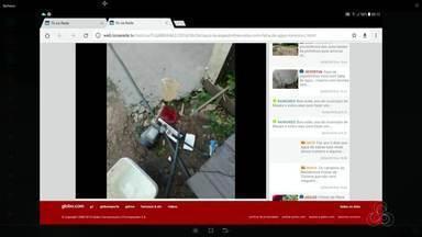 Tô na Rede: Falta de água no bairro das Pedrinhas no AP - Internauta reclama da falta de água na travessa D que causa transtorno aos moradores