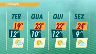 A previsão para os próximos dias continua sendo de frio e umidade - Uma massa de ar frio segue atuando na região e promete derrubar ainda mais as temperaturas.