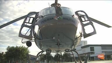 Falta de manutenção e de recursos impedem utilização de helicópteros da PM - Falta de manutenção e de recursos impedem utilização de helicópteros da PM