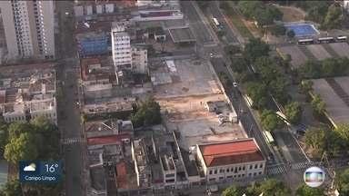 Hospital Público será construído em quadra que fica na Cracolândia - A construção do novo hosítal é uma forma de revitalizar a área.