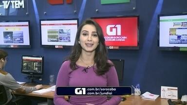 Mayara Corrêa traz os destaques do G1 Sorocaba e Jundiaí nesta terça-feira - Confira os destaques do G1 Sorocaba e Jundiaí nesta terça-feira (5) com Mayara Corrêa.