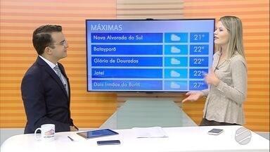 Confira a previsão do tempo para esta terça-feira (5) em MS - Mais um dia gelado na maioria dos municípios do estado.