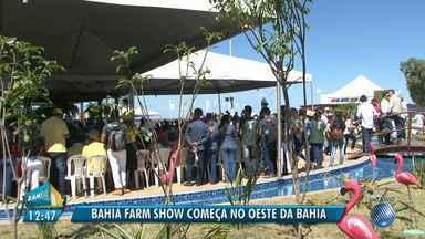 Bahia Farm Show tem início nesta terça (5) e deve movimentar mais de R$ 1,5 bilhão - A maior feira de tecnologia agrícola do Norte e Nordeste do país acontece em Luís Eduardo Magalhães, no oeste do estado.
