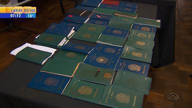 Despachante de Porto Alegre é suspeito de fraudar agendamento de vistos para os EUA - Segundo a investigação, suspeito cobrava por agendamentos que não eram realizados.