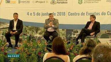 Gestores públicos discutem questões passadas para aprimorar futuro do Ceará - Saiba mais em g1.com.br/ce