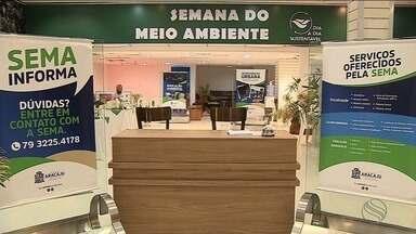 Semana do Meio Ambiente é aberta em Aracaju - Evento é em comemoração ao dia do Meio Ambiente comemorado dia 05 de junho