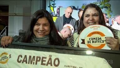 Schnaps Bar é o campeão do concurso Comida di Buteco 2018 - Premiação foi nesta terça-feira (5), em Curitiba.