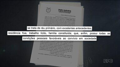 Suspeito de matar vizinho sai da prisão - O crime foi no dia 20 de maio, no bairro Juvevê, em Curitiba. O juiz revogou a prisão na tarde desta terça-feira (5).