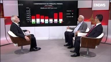 Especialistas discutem política de preços da Petrobras