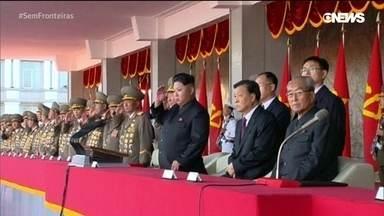 Mundo volta os olhos para encontro entre Trump e Kim Jong-un