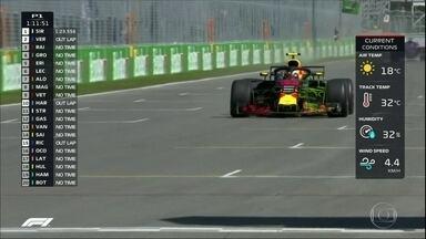 Max Verstappen faz o melhor tempo no treino livre do GP do Canadá - Max Verstappen faz o melhor tempo no treino livre do GP do Canadá