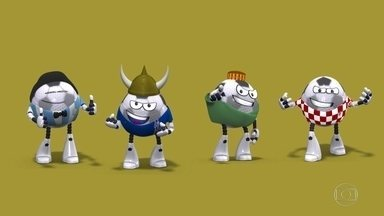 Globolinha apresenta o Grupo D da Copa do Mundo - Globolinha apresenta o Grupo D da Copa do Mundo