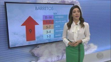 Veja a previsão do tempo para esta sexta-feira na região de Ribeirão Preto, SP - Sol aparece entre nuvens e tempo continua seco.