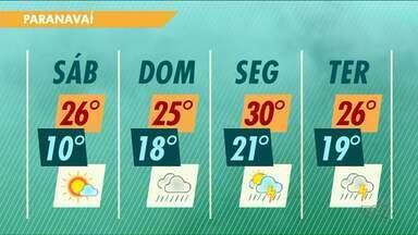 Após dia mais frio de junho, temperaturas sobem aos poucos no Noroeste - No domingo, a manhã já não será tão fria quanto a dos dias anteriores.