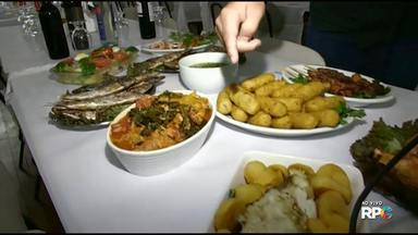 Começa hoje a Festa Portuguesa em Maringá - Entre os pratos que serão servidos bolinho de bacalhau, bacalhau grelhado e sardinha na brasa