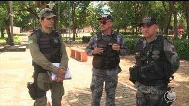 Polícia define plano de segurança para o bairro Saci durante a copa - Polícia define plano de segurança para o bairro Saci durante a copa