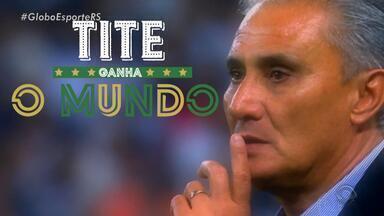 Tite do Brasil: saiba como o técnico da Seleção Brasileira ganhou o mundo - Confira o quarto episódio da série produzida pelo Globo Esporte RS.