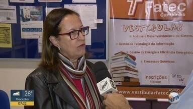 Hoje é o último dia para inscrições no vestibular das Fatecs - São 200 vagas para 4 cursos em Campinas.