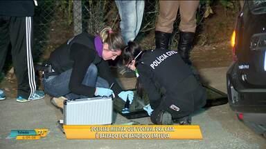 Policial é baleado por bandidos em fuga em Curitiba - Quatro pessoas já foram presas, os bandidos tinham roubado um carro em são José do Pinhais.