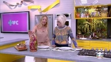 Tatiana Orlova fala sobre as tradições Russas para Ana Maria - Russa mora em Florianópolis e explica os detalhes da receita do biscoito doce russo