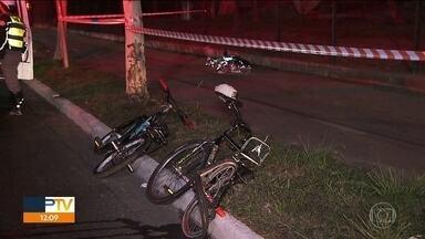 Motorista embriagado atropela e mata ciclista de 15 anos, na zona sul da capital - Motorista não parou pra prestar socorro, mas foi preso.