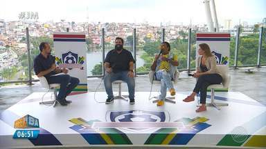 Especial do mundial: Compadre Washington, Camila Marinho e Faustão falam sobre a Copa - Veja o segundo episódio do programa especial.