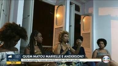 Assassinato de Marielle e Anderson continua sem solução depois de 3 meses - Até hoje, a polícia não esclareceu quem matou a vereadora e o motorista.