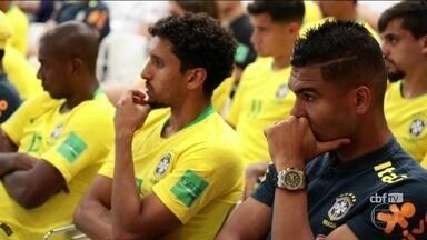 Seleção brasileira faz treino fechado nesta quarta-feira (13) - O Brasil estreia domingo (17) contra a Suíça. E nesta quarta-feira (13), a seleção treina à tarde, sem torcida.