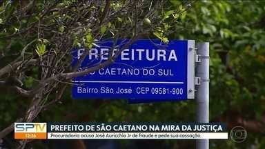 Prefeito de São Caetano é acusado de fraude - José Auricchio Jr. pode ter o mandato cassado.