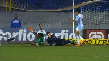 Londrina perde para o Goiás no Estádio do Café - O placar do jogo desta terça-feira (12) foi de 3x1 para o Goiás.